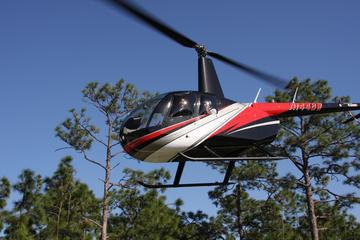 Passeio de helicóptero em Orlando saindo da área da International...