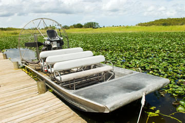 Airboat-eventyr i Miami Everglades...