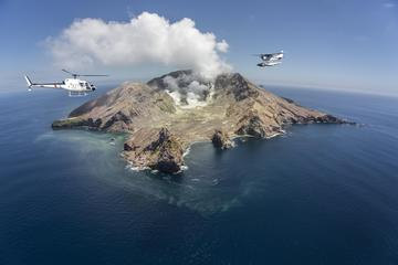 White Island Helicopter Flight and ...
