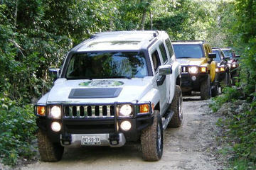 All-Inclusive Self-Drive Hummer Tour: Ziplining, C