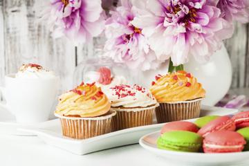 Cupcake- und Macaron-Spaziergang...