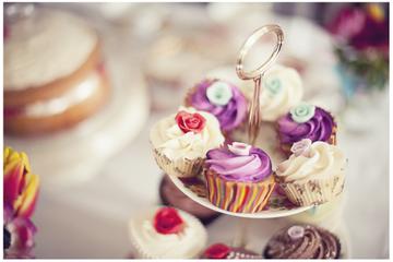 Excursão a pé sobre Cupcake e Macaron em Edimburgo