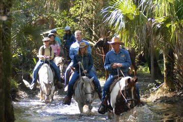 Horseback Riding at Forever Florida...