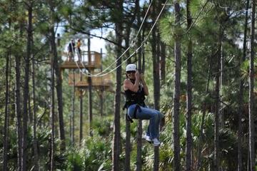 Zipline Adventure at Forever Florida