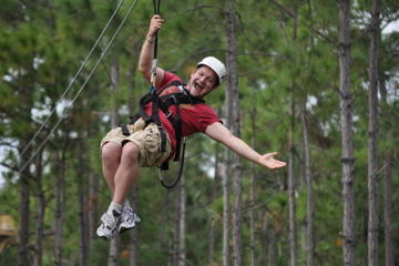Zipline Safari at Forever Florida