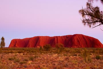 Best of Ayers Rock: Sunset Uluru and Sunrise Kata Tjuta Small Group...