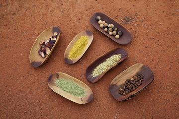 Comida rural de los aborígenes de la...