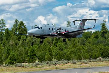 Lyxig flygplanstur till Grand Canyon South Rim