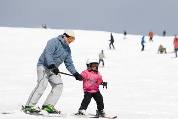 Clase de esquí en Bariloche