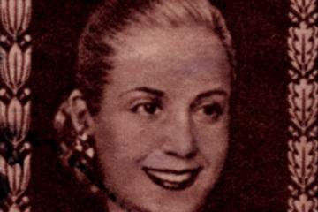 Excursión Evita Perón por Buenos Aires