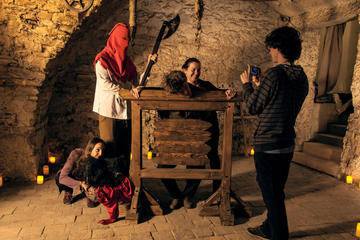 Ghosts, Legends and Dungeon Walking Tour in Prague