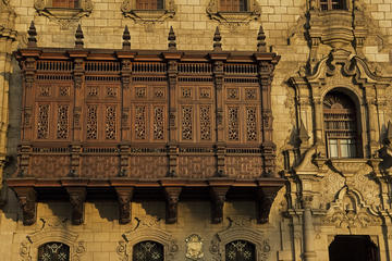 Churches and Balconies of Lima Half...