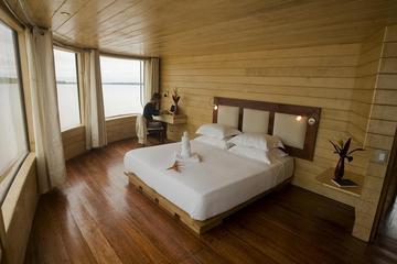 """Crucero de lujo de 4 días por el Amazonas desde Iquitos en el """"Aqua"""""""