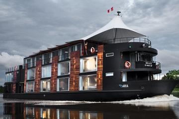 """Crucero de lujo de 4 días por el Amazonas desde Iquitos en el """"Aria"""""""