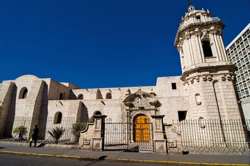 Excursão privada: Arequipa colonial...
