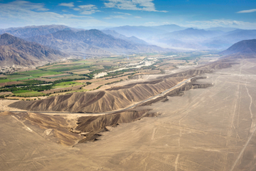 Recorrido aéreo por las líneas de Nazca con traslado desde Lima
