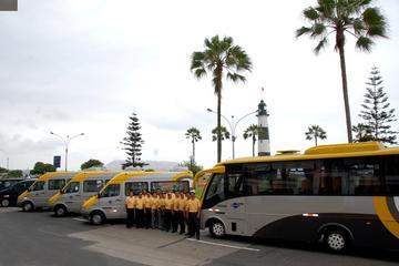 Traslado privado de partida: do hotel em Lima ao aeroporto