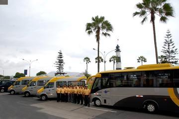 Traslado privado para salidas: del hotel de Lima al aeropuerto