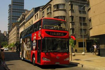Circuit en bus à arrêts multiples à Santiago