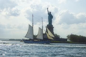 Statue of Liberty Tall Ship Sailing...