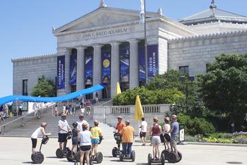 Segway-tour naar de oevers van het meer in Chicago en de Museum Campus
