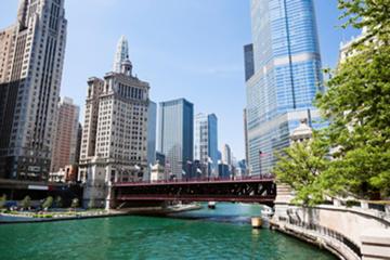 Tour in Segway dell'architettura e dei parchi della Chicago Riverwalk