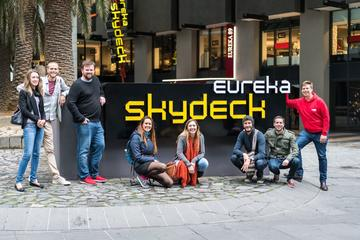 Melbourne Bites and Sights with Eureka Skydeck and stunning views of...
