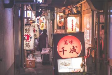Tokio por la noche: recorrido...