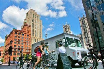 Tour en vélo avec de Montréal avec en-cas