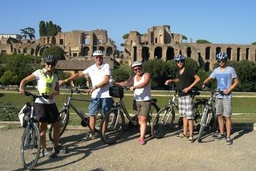 Roma em uma excursão de um dia de bicicleta elétrica