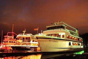 Cena navideña y crucero con villancicos por Vancouver