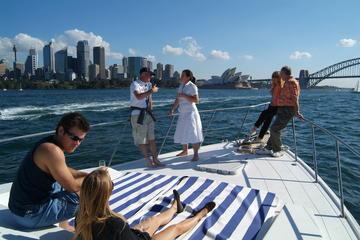 Luxusbootstour durch den Hafen von Sydney inklusive Mittagessen