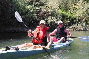 Excursão guiada de caiaque pelo Rio Russian