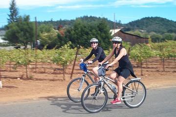 Visite en vélo dans la campagne de Carneros avec dégustation de vins