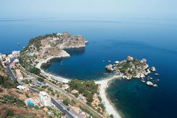 Excursão terrestre de Taormina: excursão a Acirale, Catania e Riviera...