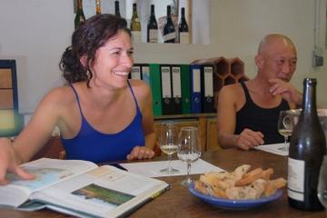 Cata de vinos orgánicos en Niza