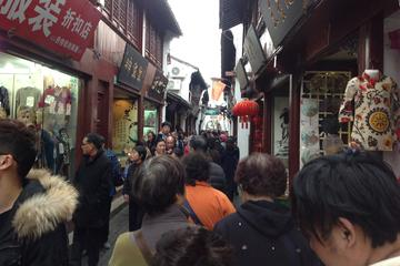 Small Group Walking Tour at Qibao Water Town Shanghai with Lunch