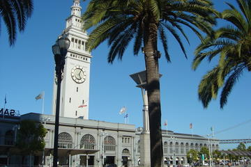 San Francisco Combo: Ferry Building and Alcatraz