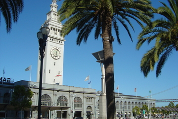 San Francisco-kombination: Matrundtur i Ferry Building och Alcatraz