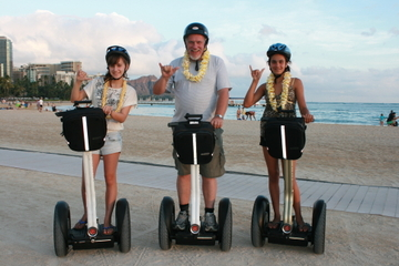 Excursão de Segway a Waikiki e Diamond Head