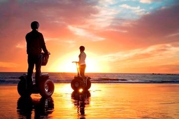 Excursão de Segway com pôr do sol na praia