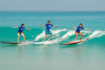 Group Surf Lessons at Macao Surf Camp - Punta Cana Surfing