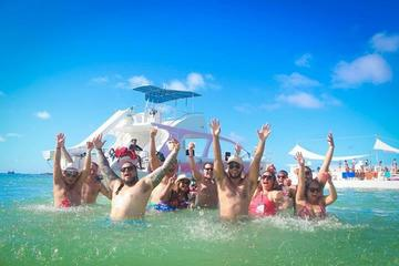 Private Punta Cana Party Boat with Water Slide and Open Bar