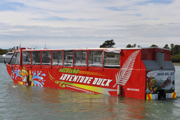 Excursão em veículo anfíbio por Auckland