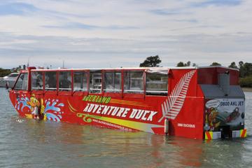 Sortie en véhicule amphibie à Auckland