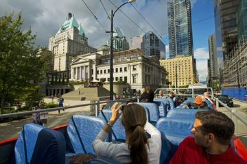 Hop-on hop-off tour door de stad Vancouver