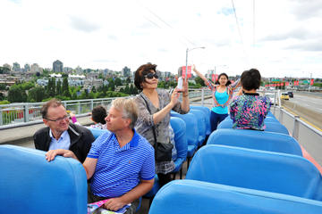 Vancouver Super Saver: 2-Day City Hop-On Hop-Off Tour and Attractions...