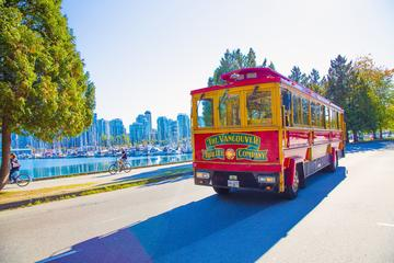 Vancouver Trolley Hop-On, Hop-Off Trolley Tour and Lookout Tower