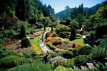 Visite de Victoria et des Butchart Gardens, au départ de Vancouver
