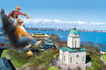 Flytour Helsinki: 4D-Sightseeing Ride Admission Ticket